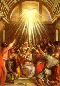 The Coming Of The Holy Spirit Pentecost Christianblessings