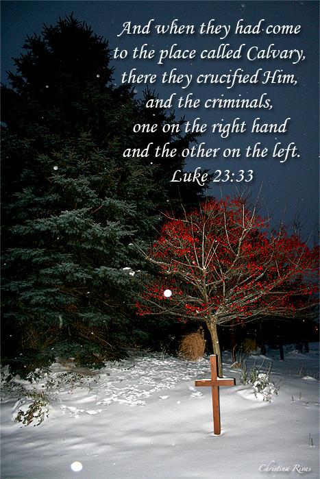 Luke 23 33