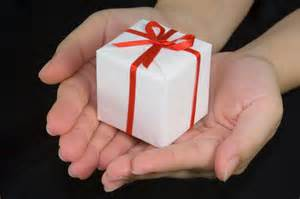Accepting a gift