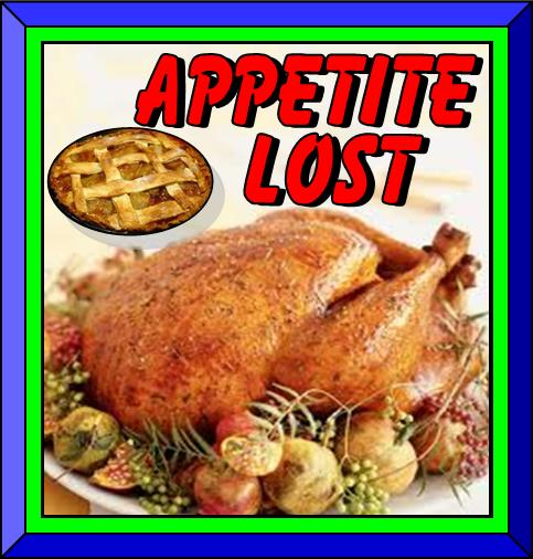 Appetite lost