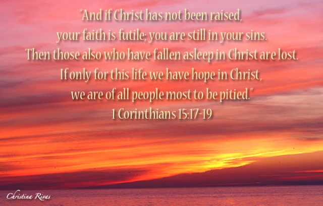 1 Corinthians 15 17-19