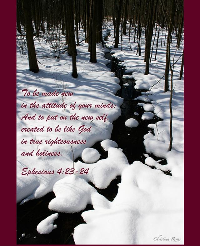 Ephesians 4 23 24