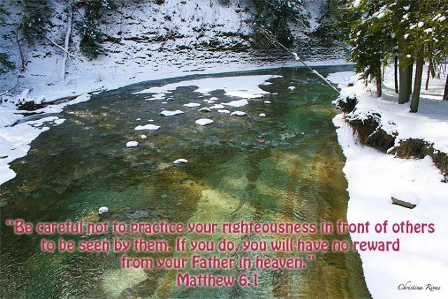 Matthew 6 1