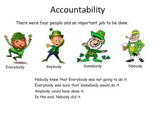 acountability