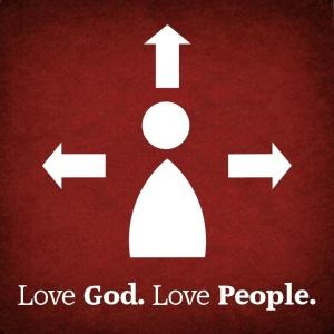 Love God. Love People. image source: www.peakumc.org