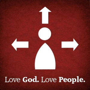 Love God. Love People. image source: www.peakumc.org