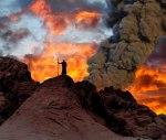 vayiera-3  Abram looking at Sodom