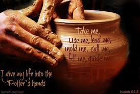 jars of clay potters hand