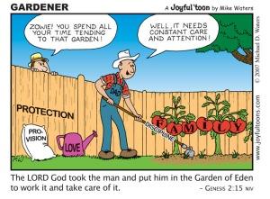 Gardener - Genesis 2:15
