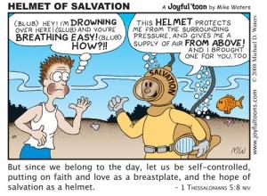 Helmet of Salvation - 1 Thessalonians 5:8