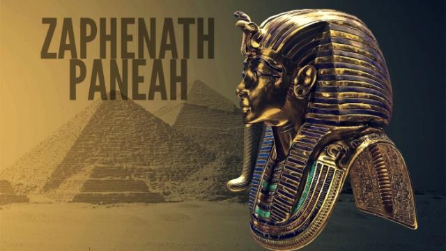 zaphenath-paneah
