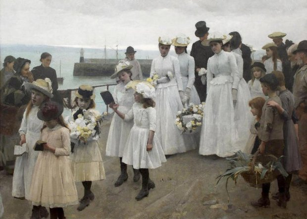 Frank_Bramley_-_Kingdom_Of_Heaven_1891